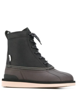 Alal Wpab Lace Up Boots by Suicoke