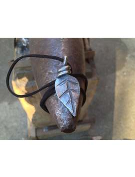 Leaf Pendant   Hand Forged by Etsy