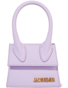 Le Chiquito Mini Leather Tote by Jacquemus