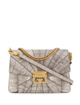 Ayers Snakeskin Shoulder Bag by Givenchy