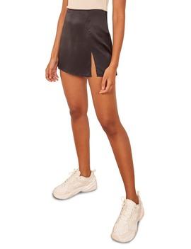 Robbie Silk Miniskirt by Reformation