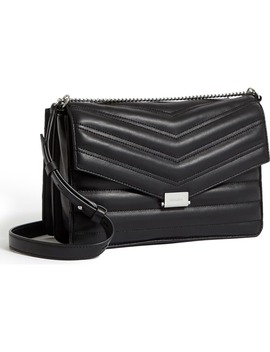 Justine Quilted Leather Crossbody Bag by Allsaints