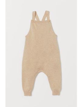Fine Knit Bib Overalls by H&M