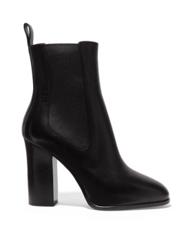 Leather Chelsea Boots by Dries Van Noten