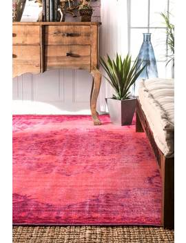 Windsor Printed Overdyed Grove Rug by Rugs Usa