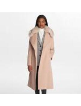 Long Wrap Coat by Karl Lagerfeld