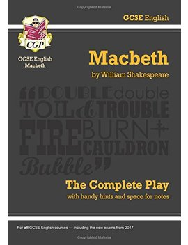 Grade 9 1 Gcse English Macbeth   The Complete Play by World Of Books