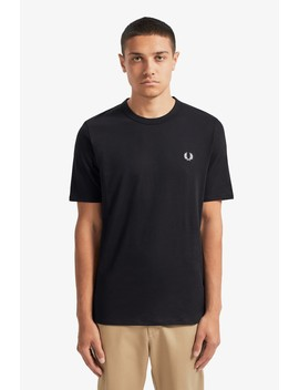 Taped Side T Shirt by Fred Perry