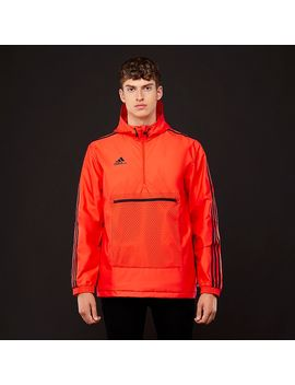 Adidas Tango Windbreaker   Hi Res Red by Pro Direct Soccer