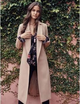 Ellen Maxi Coat   Camel   4 by Forever New
