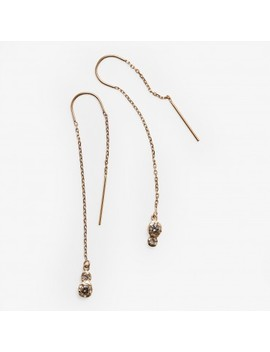 Misa Jewelry Twin Star Threader Earring Diamond by Abc Home
