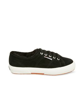 2750 Suehairyfurw Black Suede by Superga