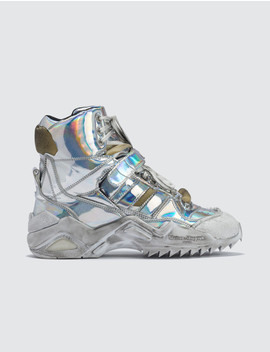 deconstructed-high-top-trainers by  ------------maison-margiela --------