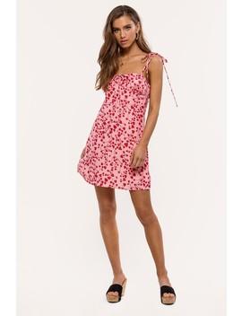 All I Got by Loavies Heart Print Dress