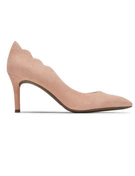 Women's Total Motion 75mm Scalloped D'orsay Heel by Rockport