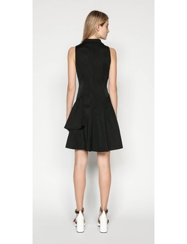 Asymmetric Frill Zip Front Dress by Cue