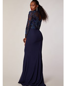 Coley Dress Navy by Virgos Lounge