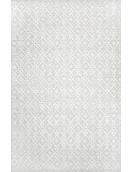 Kenda Diamond Trellis Texture Rug by Rugs Usa