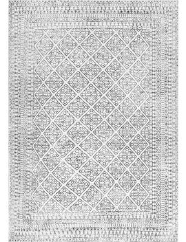 Primavera Tiled Tracery Rug by Rugs Usa