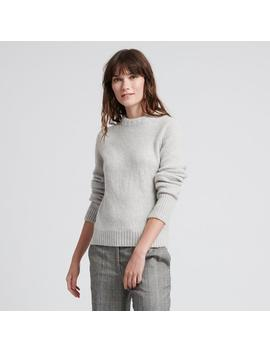 Wool Cashmere Chunky Sweater Cement by Naadam