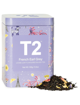 French Earl Grey 100g Feature Tin by T2 Tea