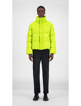 Macaw Green Core Puffer Jacket by Daily Paper
