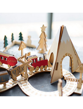 Birch Railway Advent Calendar by Terrain