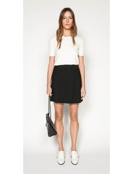 Textured Short Sleeve Knit by Cue