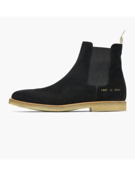 Chelsea Boot In Suede by Common Projects