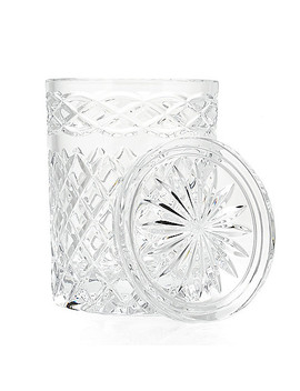 """Waterford Crystal Celtic Knot 7"""" Lidded Canister by Shop Hq"""