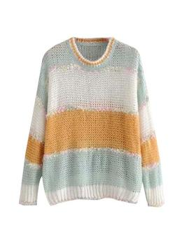 'carey' Mixed Knit Mohair Sweater (2 Colors) by Goodnight Macaroon