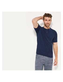 Men's Moisture Wicking Henley by Joe Fresh