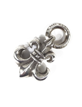 Chrome Hearts Chrome Hertz Necklace Bs Flare Charm /Bs Fluer Charm Pendant Top Silver Men Gap Dis by Rakuten Global Market
