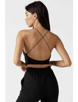 Cross Back Cami by Joah Brown