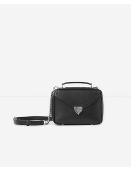 Medium Black Barbara Bag In Smooth Leather by The Kooples