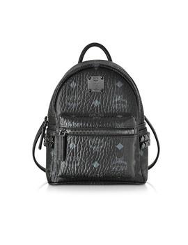 Stark Bebe Boo Black Xmn Backpack by Mcm