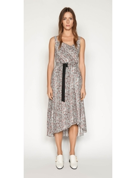 Python Cowl Neck Dress by Cue
