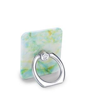 Jade Marble Phone Ring by Velvet Caviar