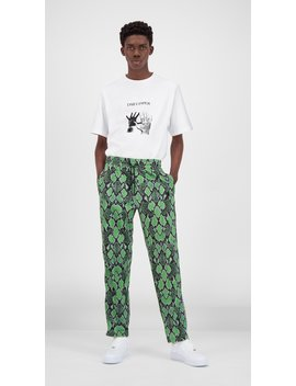 Green Snake Liba Pants by Daily Paper