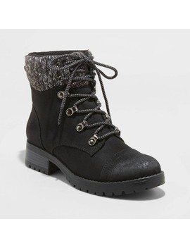 womens-danica-microsuede-lace-up-boots---universal-thread by universal-thread