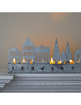 Concordville Tea Light Advent Village by Terrain