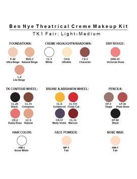 Ben Nye Theatrical Creme Makeup Kit by Ben Nye
