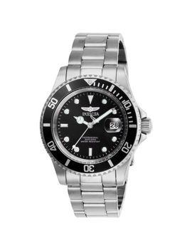 Invicta 40mm Pro Diver Quartz Magnified Date Window Stainless Steel Bracelet Watch by Shop Hq