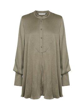 Elton Tuxedo Shirt   Olive by Shona Joy