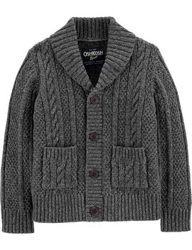 Osh Kosh B'gosh          Shawl Collar Cardigan by Oshkosh