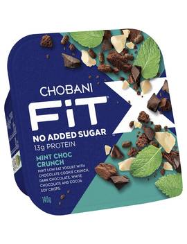 Chobani Fit X Mint Chocolate Crunch 140g by Chobani