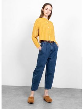 Celeste Shirt Marigold Yellow by Sideline