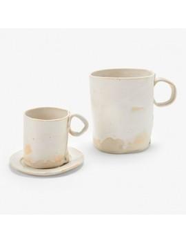Jan Burtz Porcelain Espresso Cup & Mug White by Abc Home
