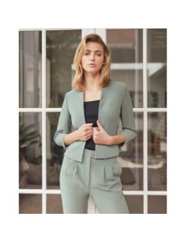 Journee Cropped Jacket by Forcast