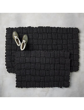 Basket Weave Doormat by Terrain